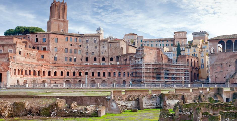 Ausgrabungen beim Forum Romanum - Rom