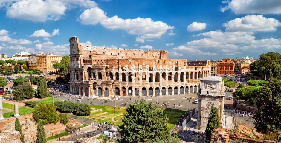Le Colisée - l'emblème de Rome