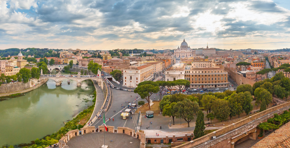 Vue sur Rome - Rome