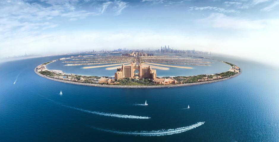 Hotel Atlantis auf der Palmeninsel Jumeirah - Dubai