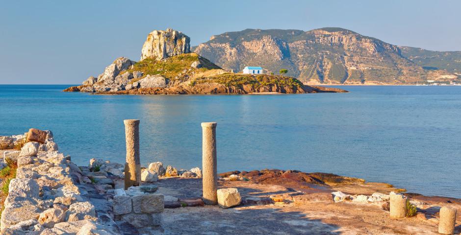 Die unbewohnte Insel Kastri