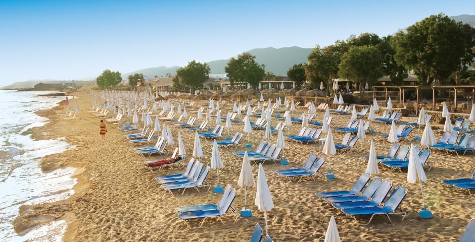 Schöne Strände für Badeferien - Kreta