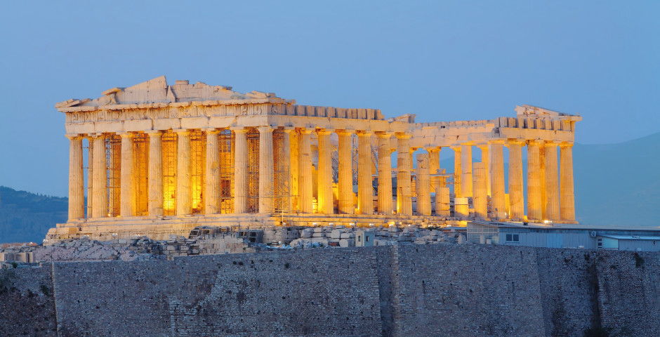 Parthenon Tempel, Akropolis - Attika/Athen