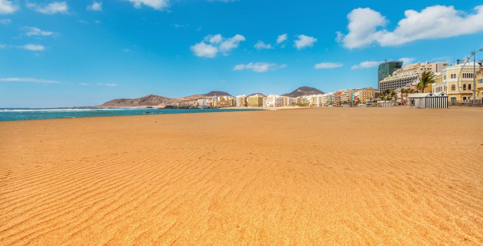 Sandstrand Playa de Las Canteras in Las Palmas de Gran Canaria - Gran Canaria