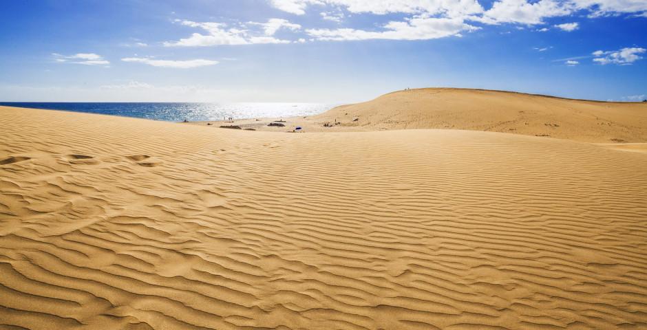 Dune de sable célèbre - Grande Canarie