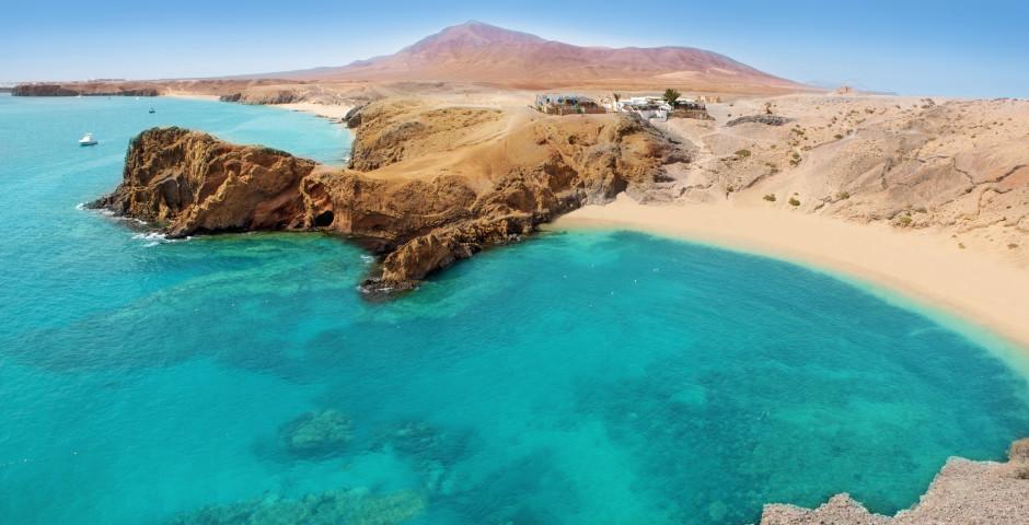 Vue sur Playa de Papagayo - Lanzarote / Arrecife