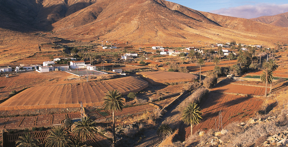 Vue sur Tindaya - Fuerteventura
