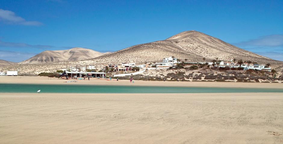 Playa de Sotavento entre Costa Calma et Jandia - Fuerteventura