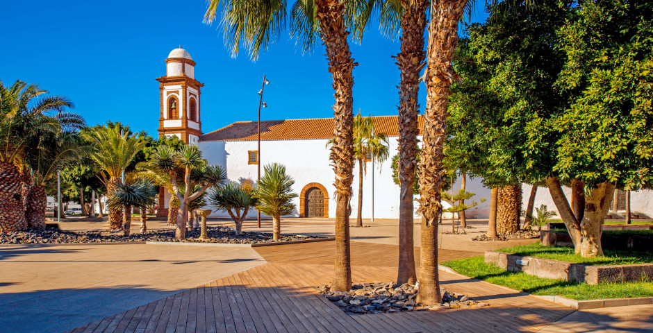 Église Nuestra Senora de la Antigua à Antigua - Fuerteventura