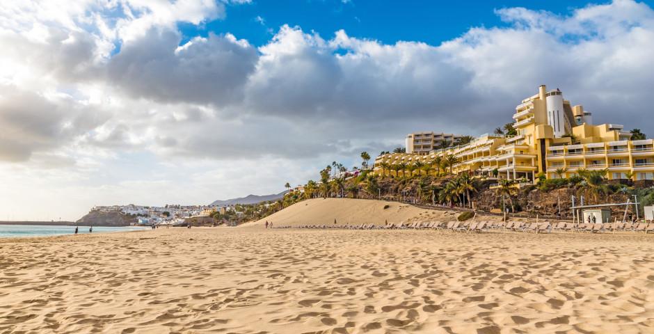 Belle plage de sable Playa del Matorral - Fuerteventura