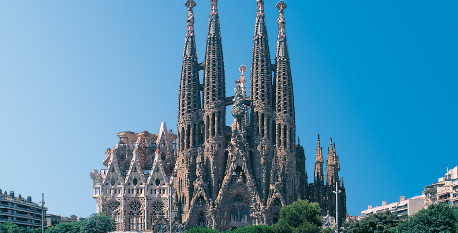 Kultur erleben in Barcelona, Sagrada Familia von Gaudi - Barcelona
