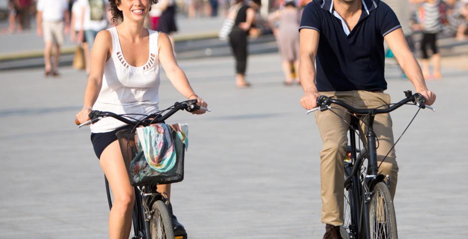 Barcelona entdecken, velofahren in Barcelona, Barceloneta - Barcelona
