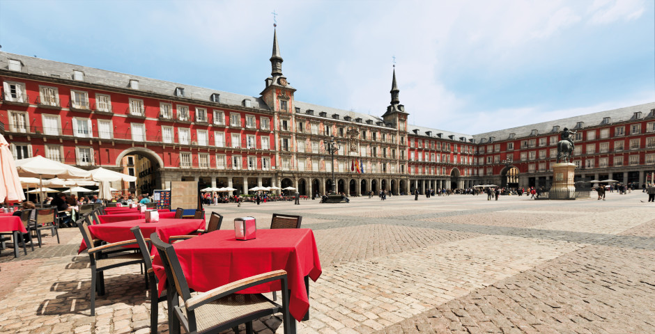 Plaza Mayor - Madrid & Umgebung