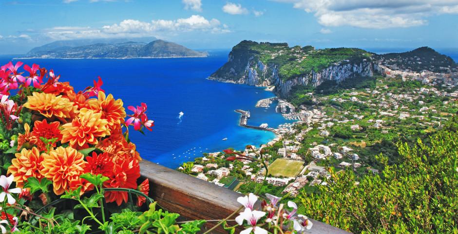 Erholung auf Capri - Golf von Neapel