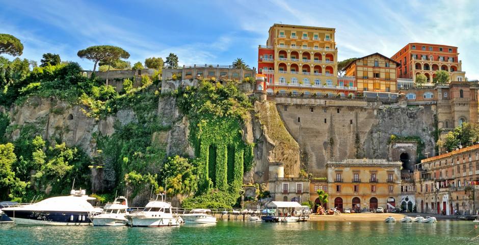 Ferien in Sorrento - Golf von Neapel
