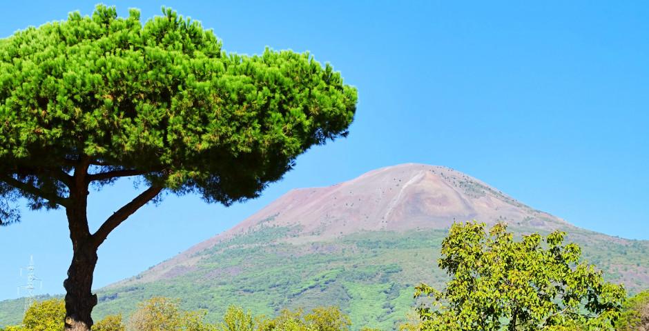 Blick auf den Vesuv - Golf von Neapel