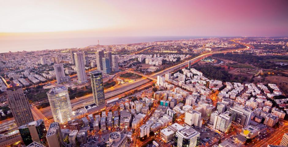 Luftaufnahme - Tel Aviv