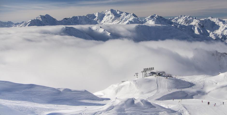 L'Arlberg en hiver