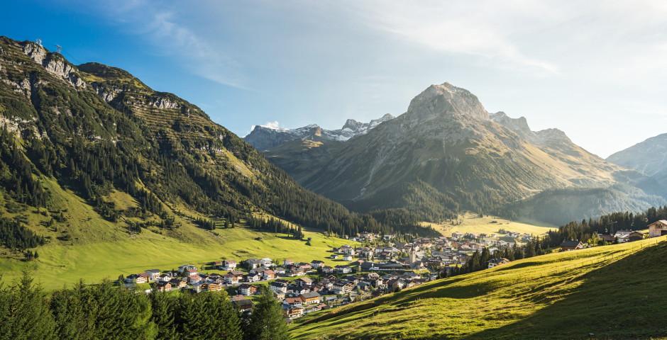 Vue sur Lech am Arlberg - Arlberg