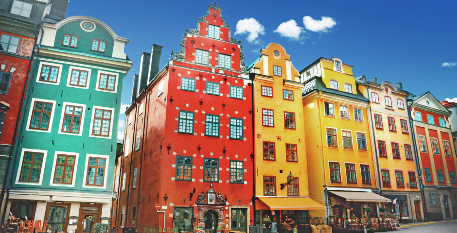 Stortorget in der Altstadt Gamla Stan - Stockholm