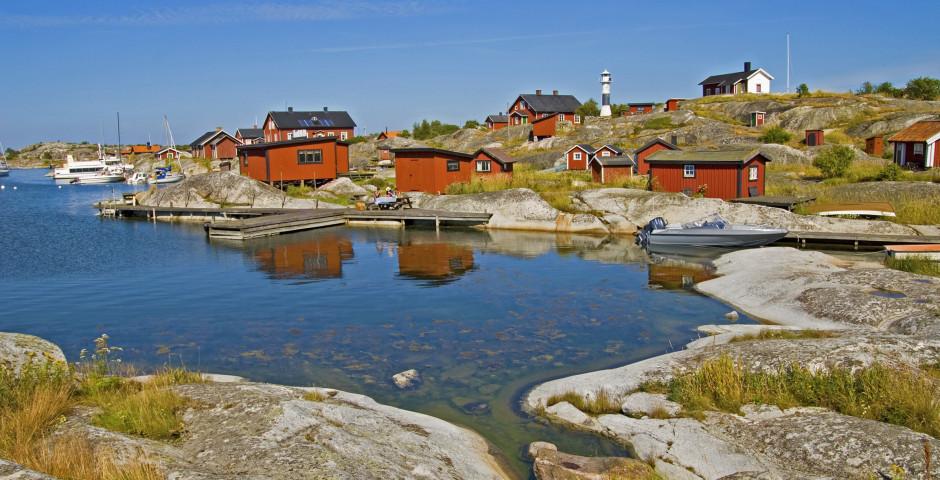 Paysage des îles typiques près de Stockholm - Stockholm