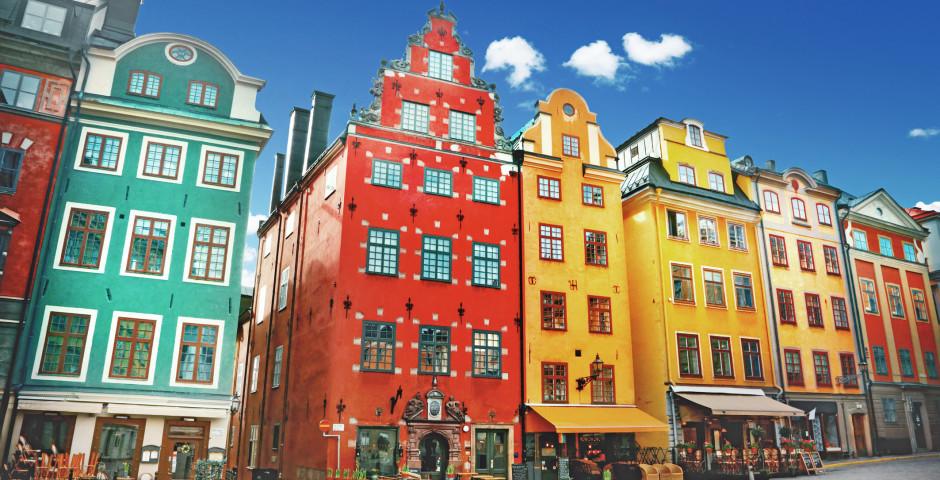 Stortorget dans la vieille ville Gamla Stan - Stockholm