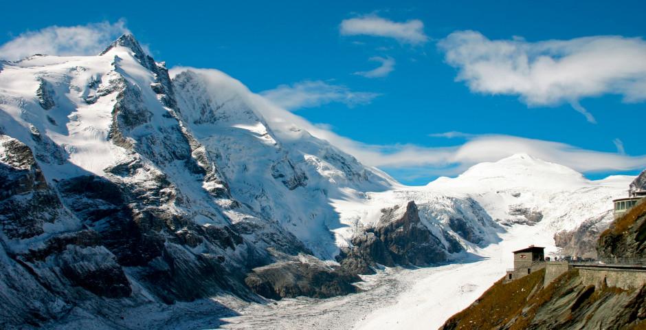Der Gletscher Pasterze - Grossglockner