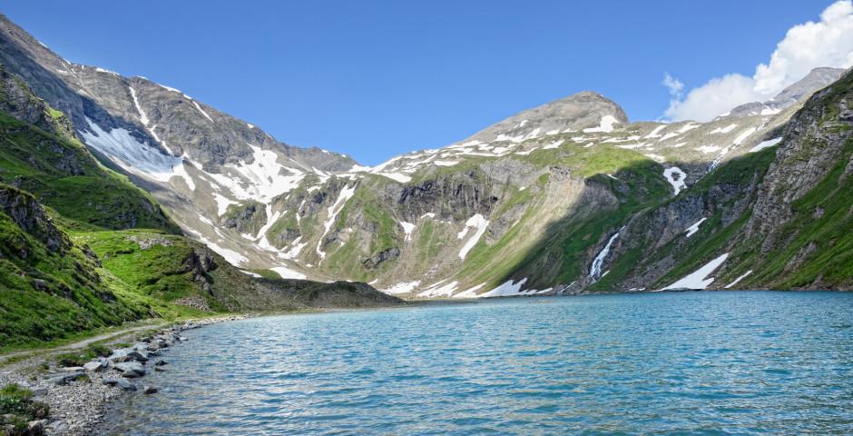 Bergsee im Grossglocknergebiet - Grossglockner