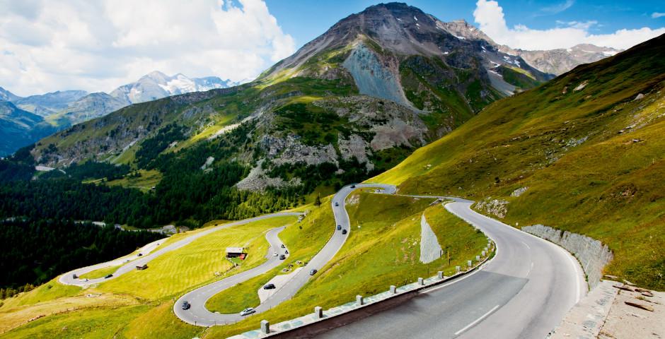 Routes des grandes Alpes Serpentine - Grossglockner