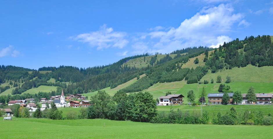 Das Dorf Schattwald im Tannheimertal - Tannheimertal