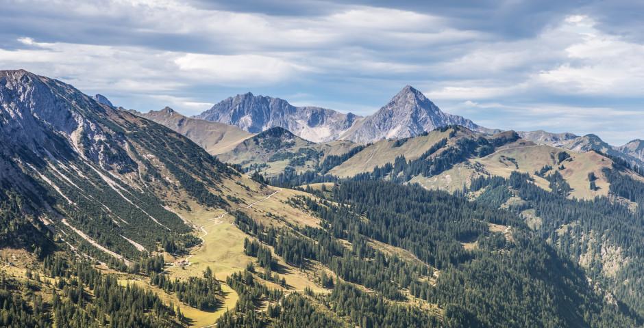 Les montagnes à Tannheimertal