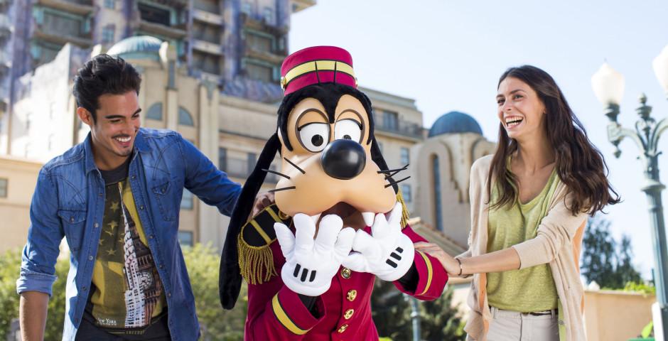 Goofy, Disneyland® Paris - Freizeitparks Frankreich