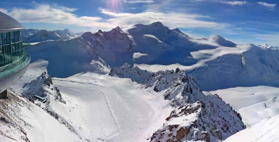 Vue sur le glacier de Pitztal - Pitztal