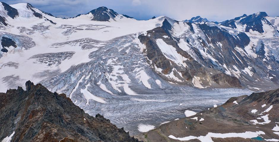 Glacier de Pitztal en été