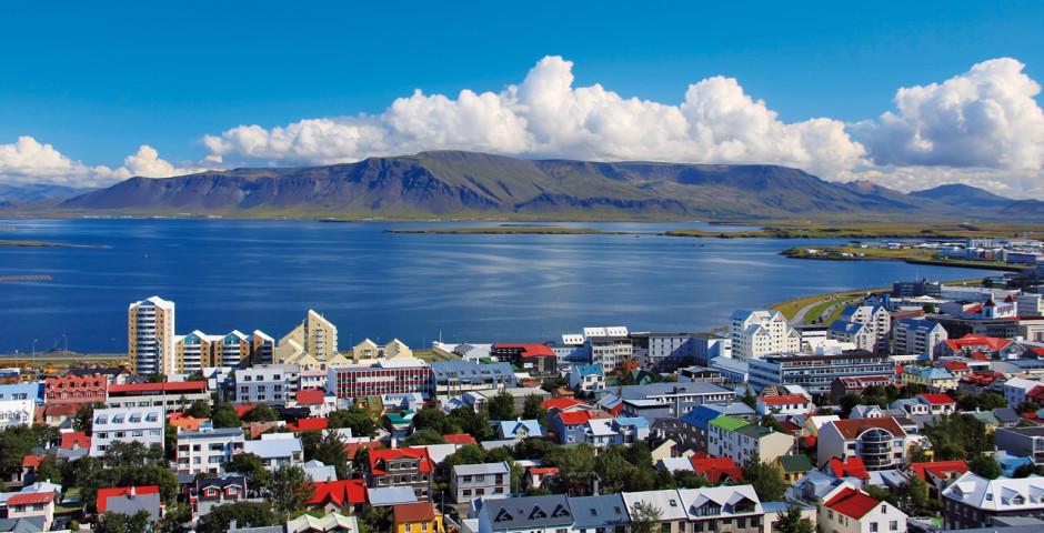 Vue de l'Atlantique - Reykjavik