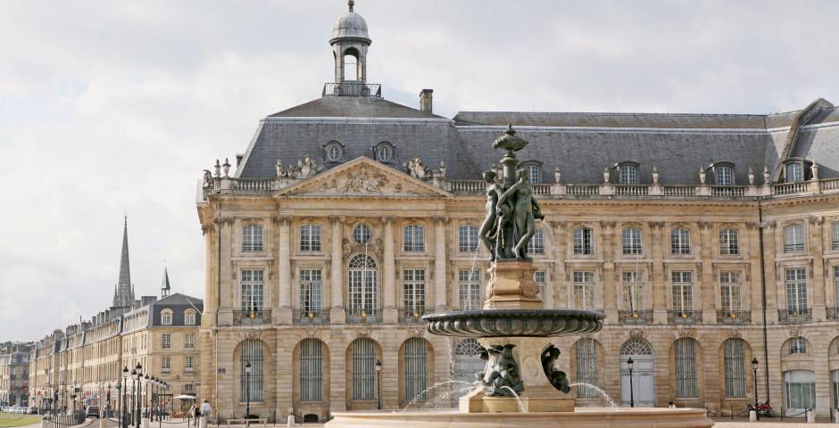 Bordeaux, Place de la Bourse, Aquitaine - Bordeaux & Umgebung