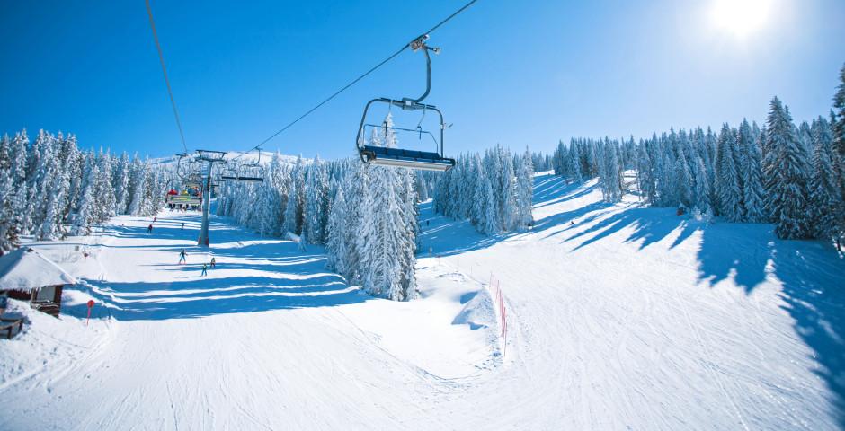 Skifahren im Mittelinntal