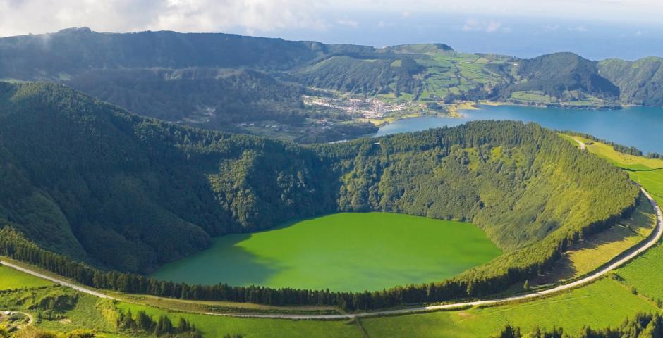 Lagoa Santiago - Sao Miguel (Azoren)