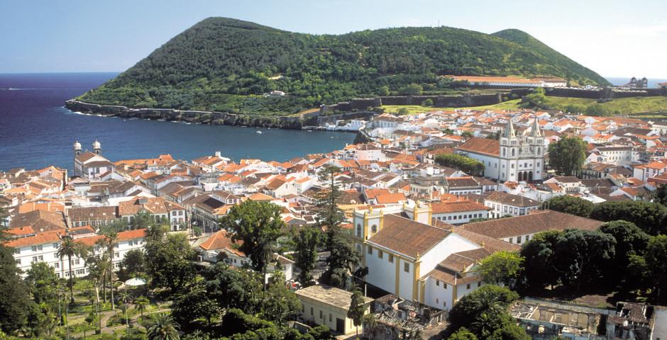 Baía de Angra do Heroísmo - Terceira (Azoren)