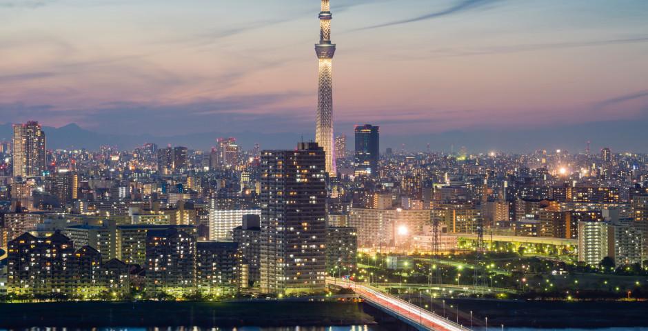 Crépuscule - Tokyo