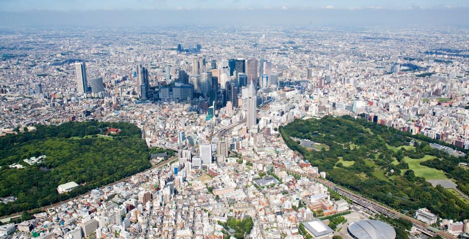 Tokyo vu d'en haut - Tokyo