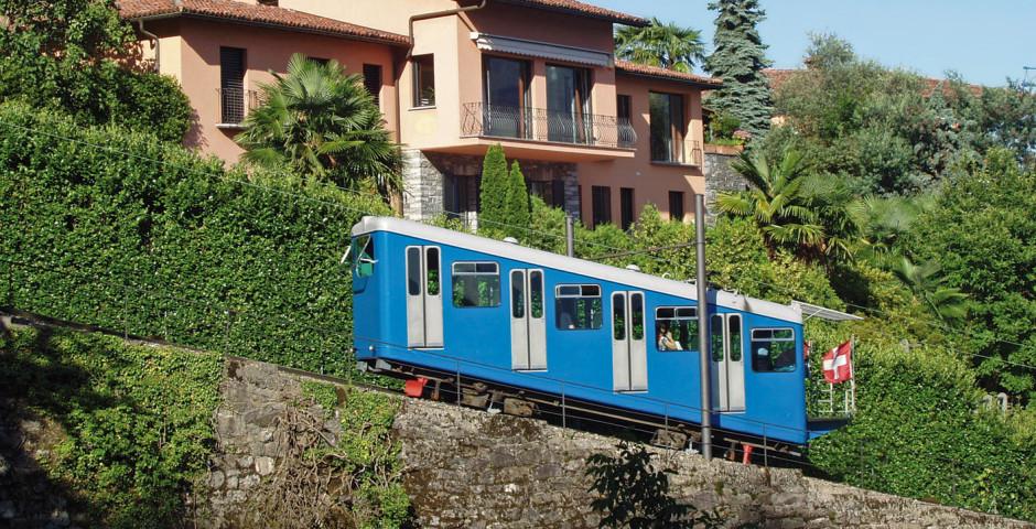 Funicolare, Locarno-Madonna del Sasso - Locarno Minusio