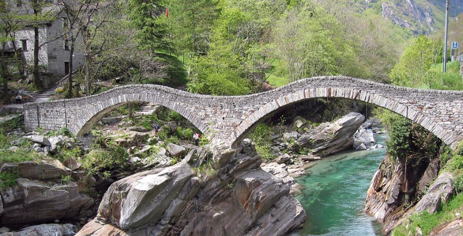 Ponte dei Salti, Lavertezzo - Verzascatal