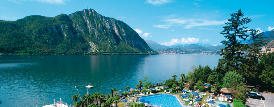 Bissone am Lago di Lugano