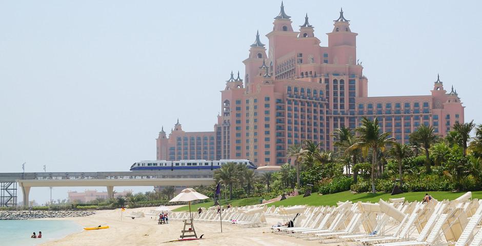 Dubaï Beach - Palm Jumeirah