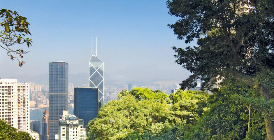 l' île de Hongkong