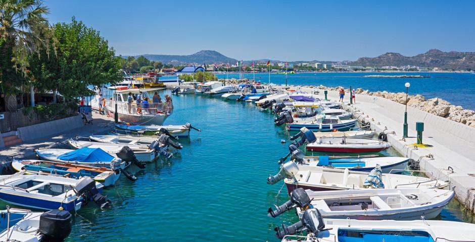 Hafen von Faliraki