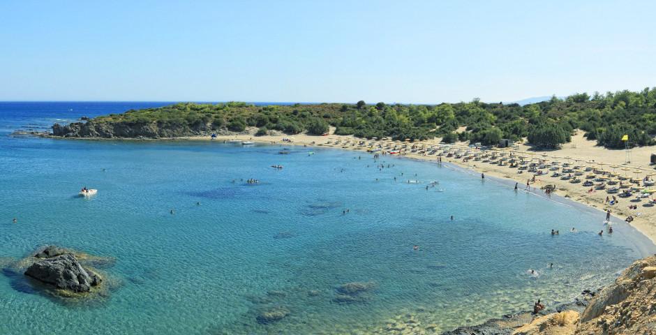 Glystra Beach bei Lardos - Lardos