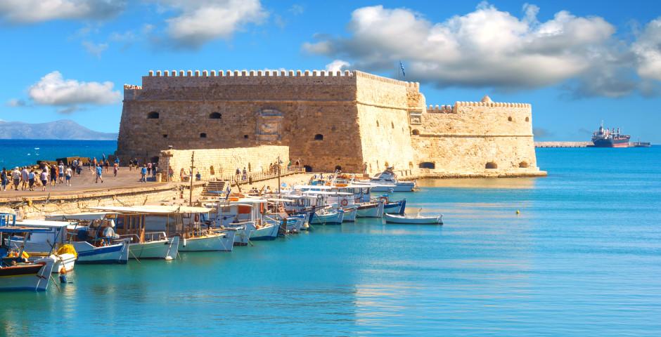 La forteresse Koulos - Crète / Héraklion