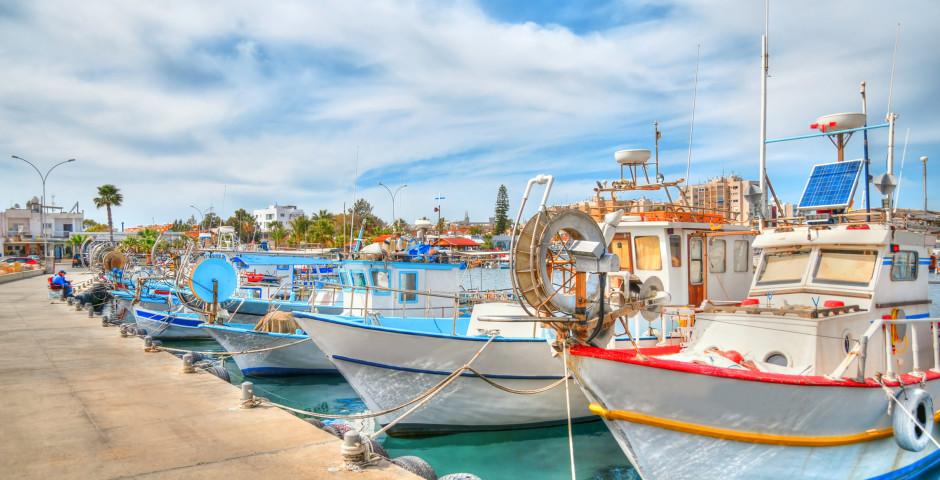 Hafen von Larnaca